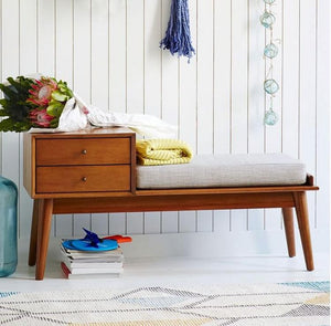 Oak Wood Bench