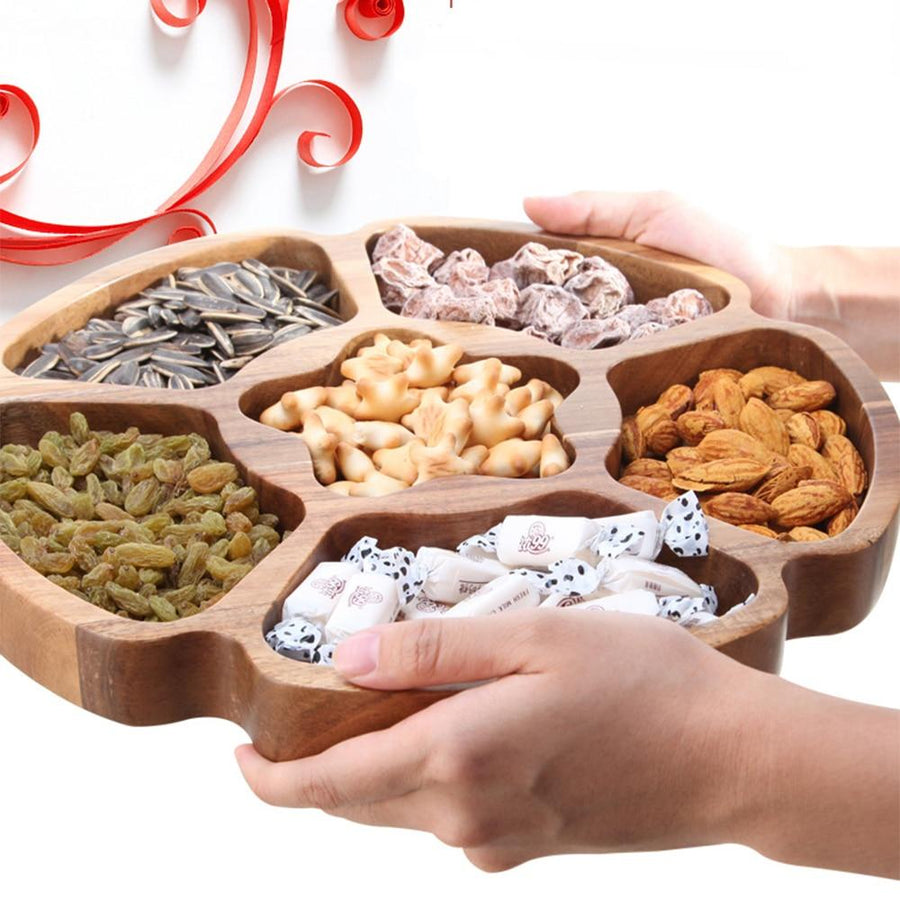 Wooden Food Storage Tray