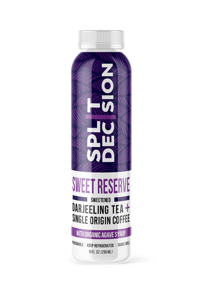 Sweet Reserve | Split Decision Cold Brew | Cold Brew Coffee and Tea Blend