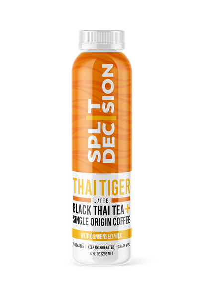 Thai Tiger | Split Decision Cold Brew | Cold Brew Coffee Latte