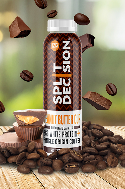 Peanut Butter Cup | Split Decision Cold Brew | Cold Brew Coffee Oat Milk Protein Mocha