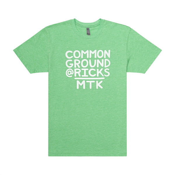 Common Ground MTK Crew Neck Tee-Shirt (Apple)