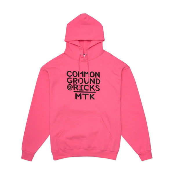 Common Ground @RICKS MTK Hoodie (Pink)