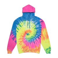 Neon Tie-Dye Common Ground Hoodie
