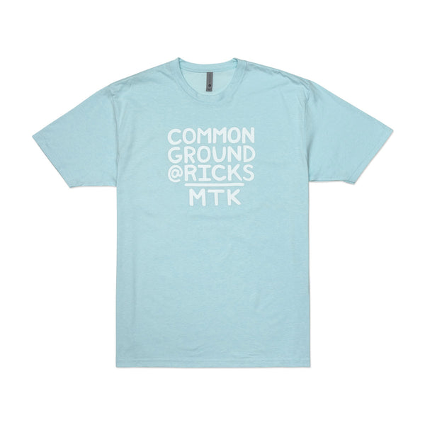 Common Ground MTK Crew Neck Tee-Shirt (Ice Blue)