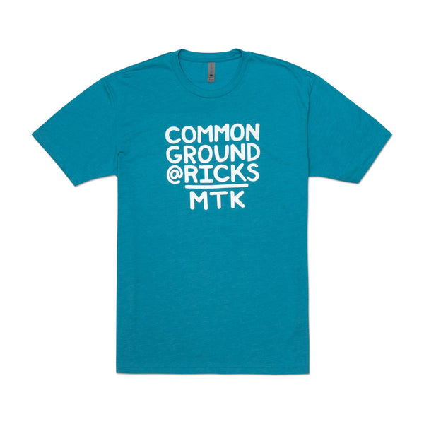 Common Ground MTK Crew Neck Tee-Shirt (Bondi Blue)