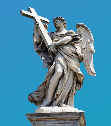 Angel statue from Rome
