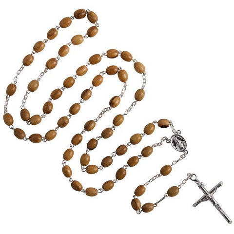 Wooden rosary beads for your daily prayers