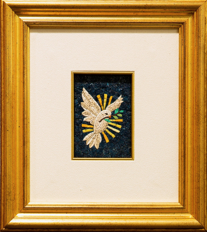 Dove of peace mosaic