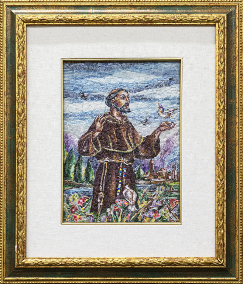 St Francis of Assisi mosaic