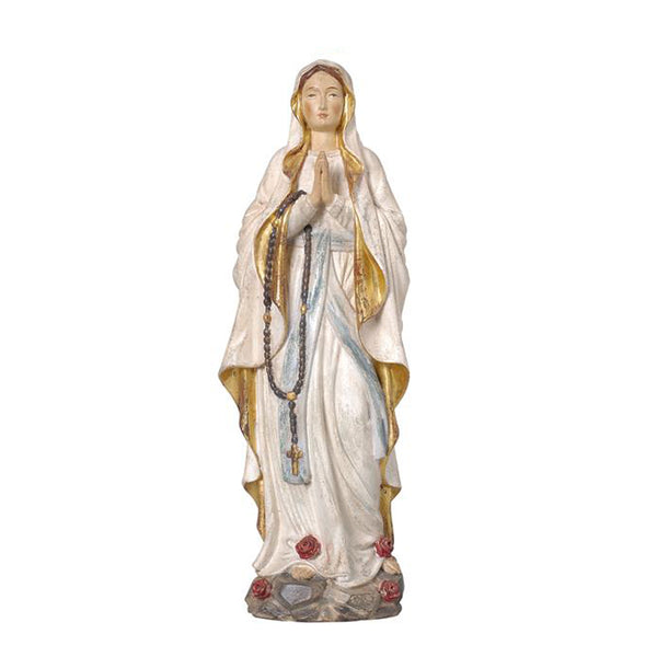 OUR LADY OF LOURDES - STATUE - WOOD