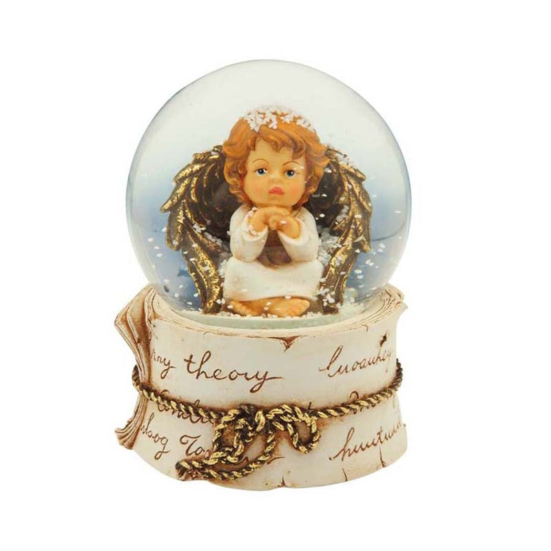 CHRISTMAS ANGEL - CHRISTMAS SNOW GLOBE AND CARILLON
