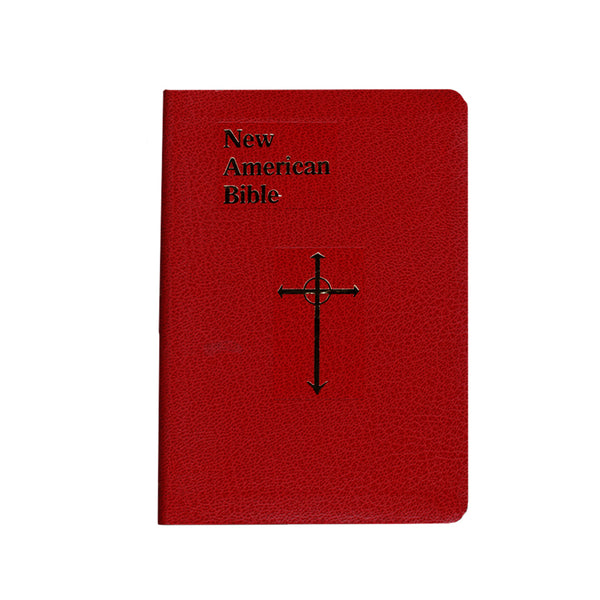 NEW AMERICAN BIBLE - RED COVER - ENGLISH