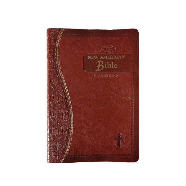 American Bible with brown cover