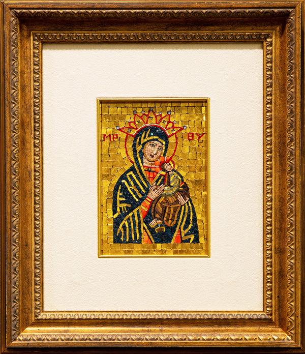 Our Lady of Perpetual Help mosaic