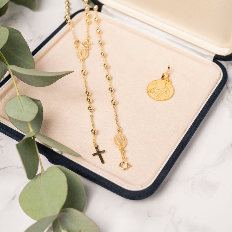 CONFIRMATION GIFT SET - VERMEIL SILVER