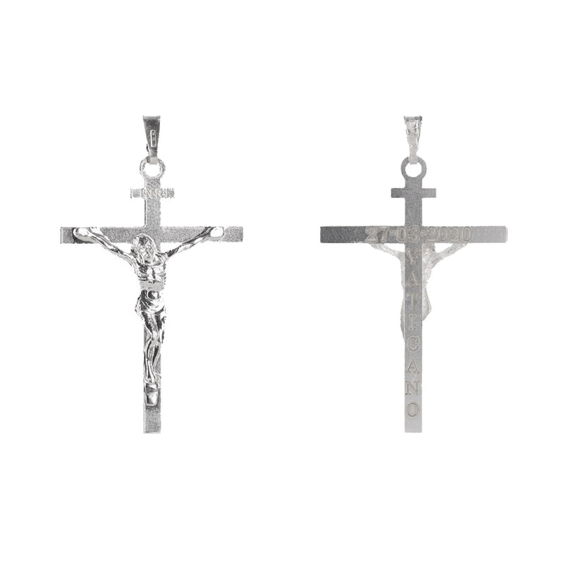 CRUCIFIX OF SAN MARCELLO - STERLING SILVER