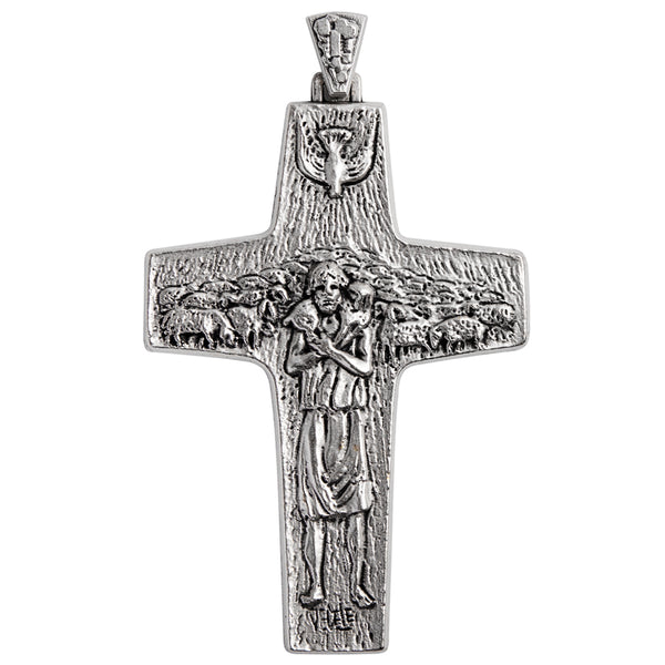 Sterling silver good sheperd cross