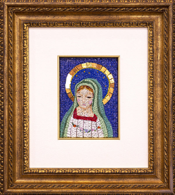 Little Virgin Mary mosaic