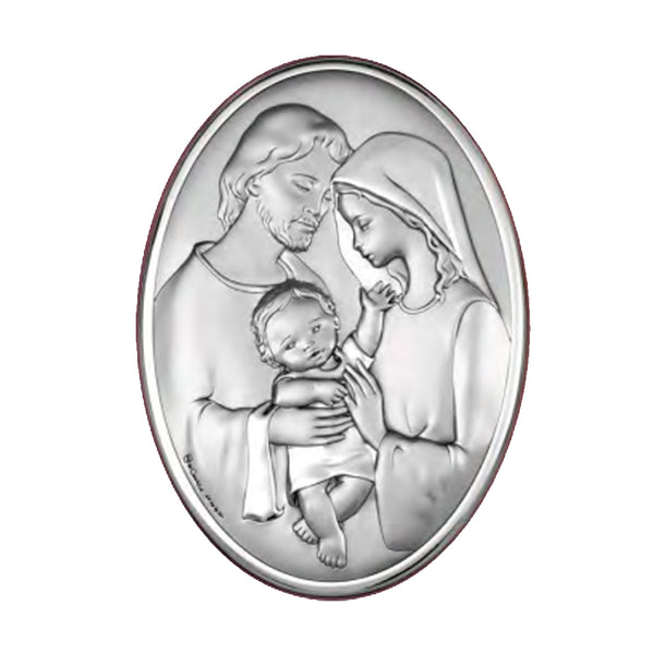 HOLY FAMILY - PICTURE - SILVER