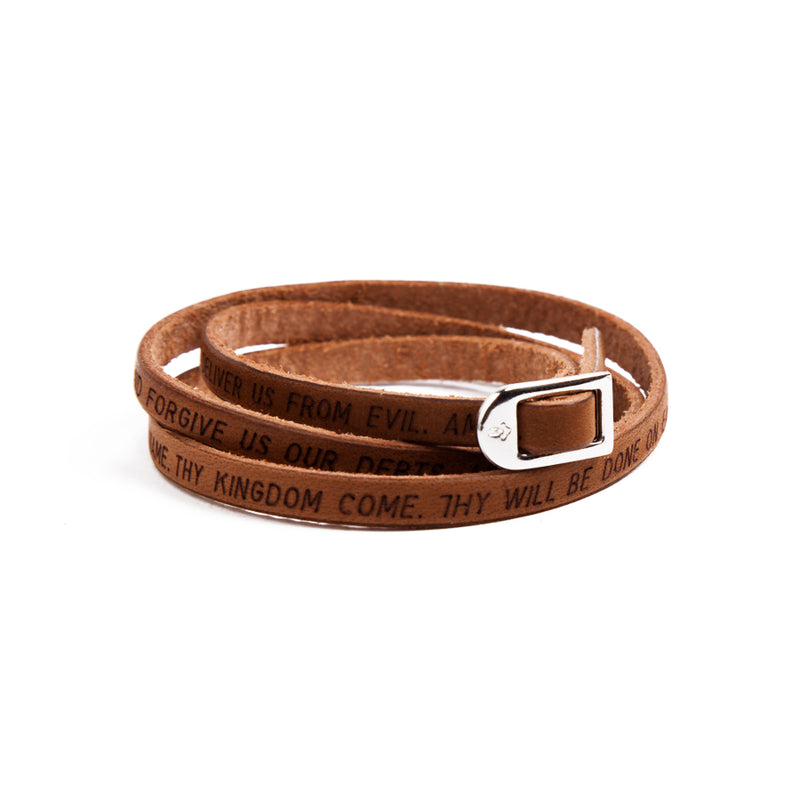 OUR FATHER - BRACELET - LEATHER