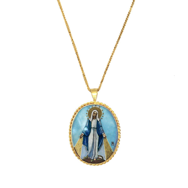 MIRACULOUS MEDAL - NECKLACE - GOLD