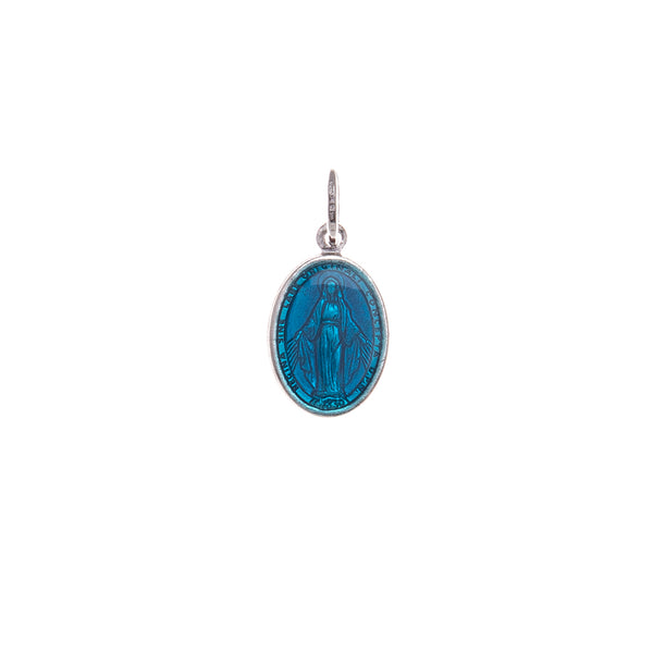 Blue miraculous medal