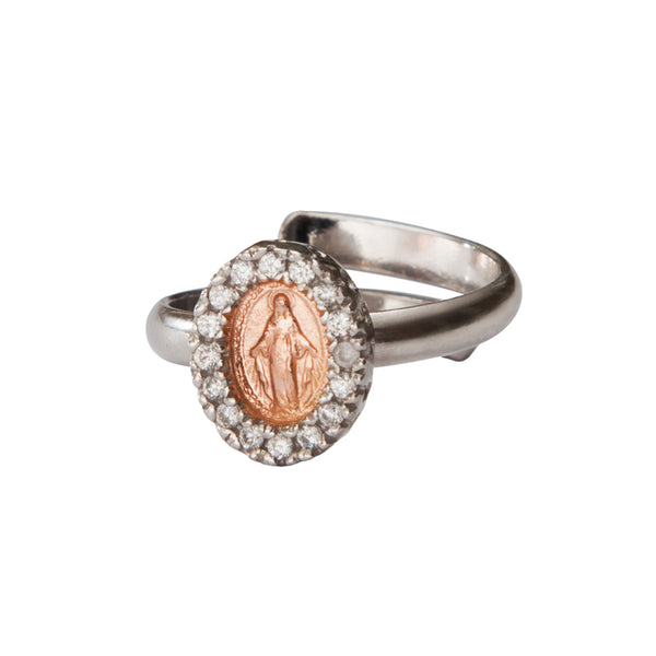MIRACULOUS MADONNA - RING - SILVER