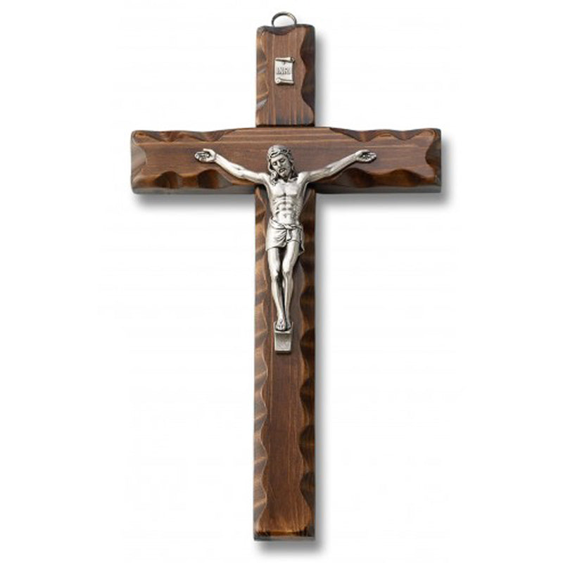 wood wall crucifix