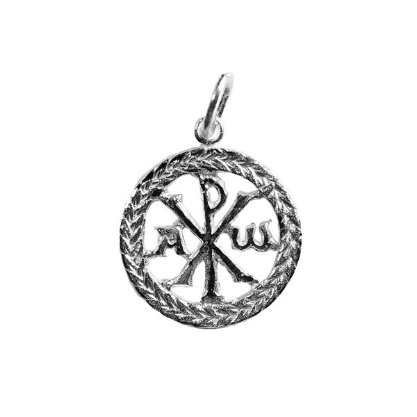 Peace pendant in 18 Kt white Gold
