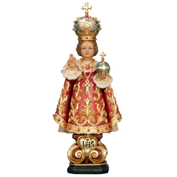 Infant Jesus of Prague wood statue