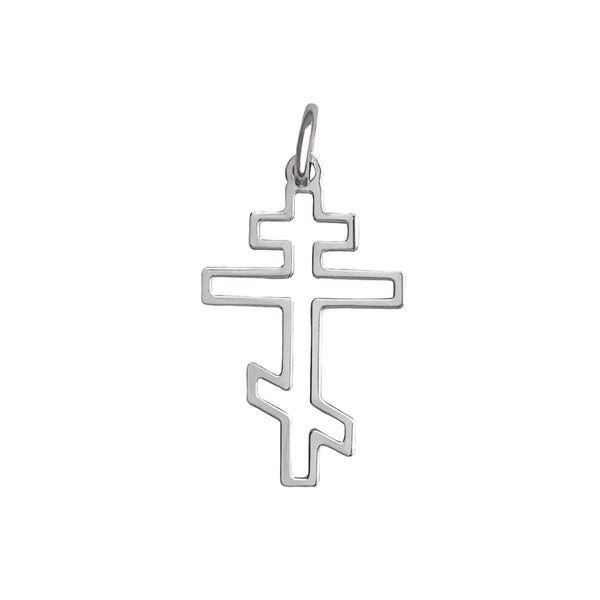 Sterling silver Orthodox cross