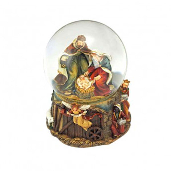 Nativity Snow Globe Carillon