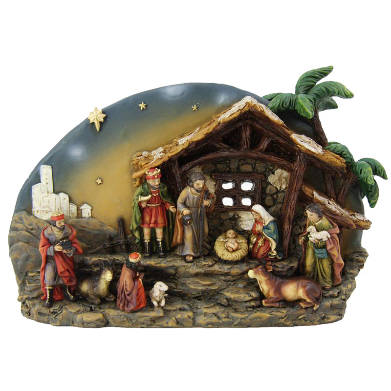 NATIVITY - CHRISTMAS - RESIN