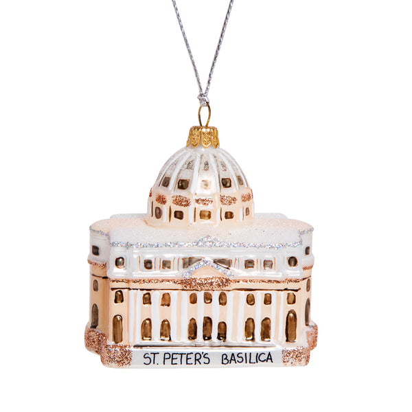 St peter's basilica christmas ornament