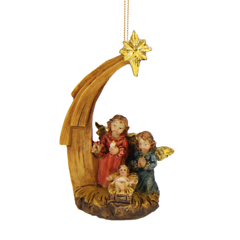 esin tree ornament with angels and the Infant Jesus