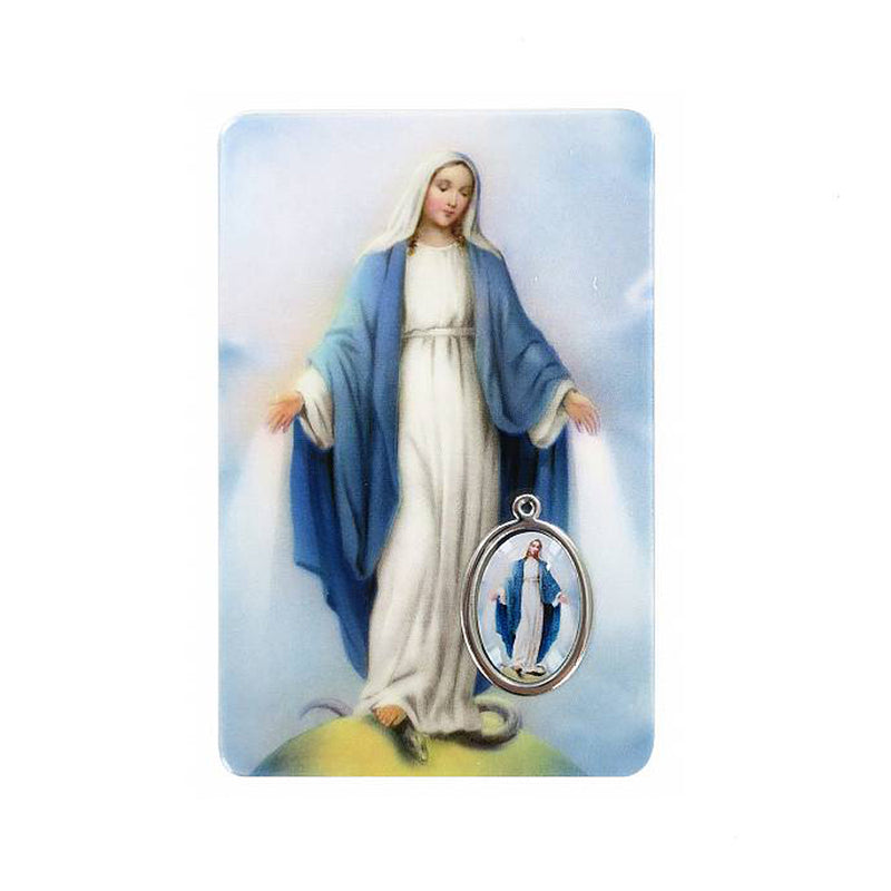 OUR LADY OF GRACE - PRAYER CARD