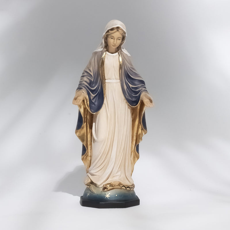 OUR LADY OF GRACE - STATUE - WOOD