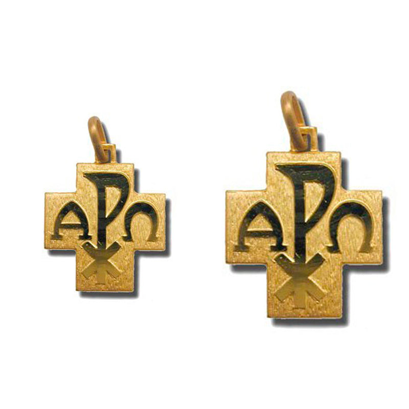 PEACE - CROSS PENDANT - GOLD