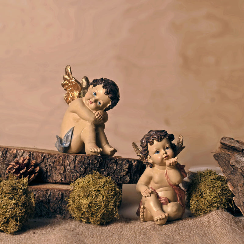 PUTTO ANGELS COUPLE - RESIN