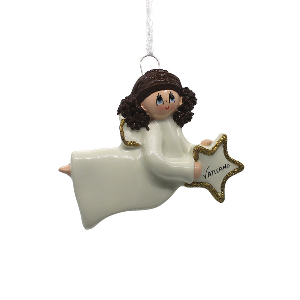 ANGEL - CHRISTMAS TREE DECORATION - RESIN