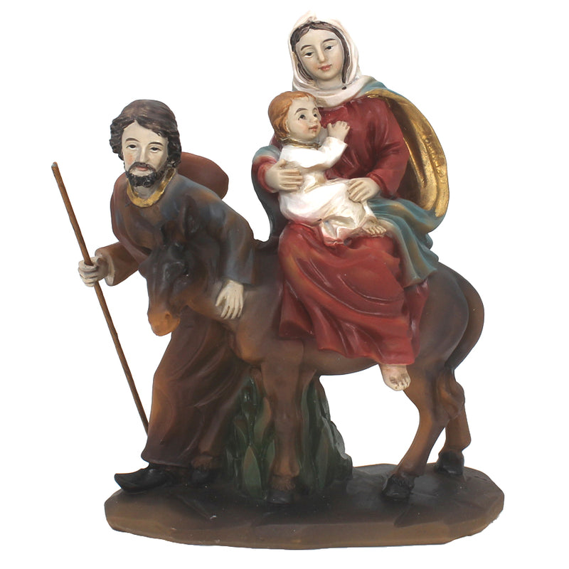 HOLY FAMILY - NATIVITY - RESIN