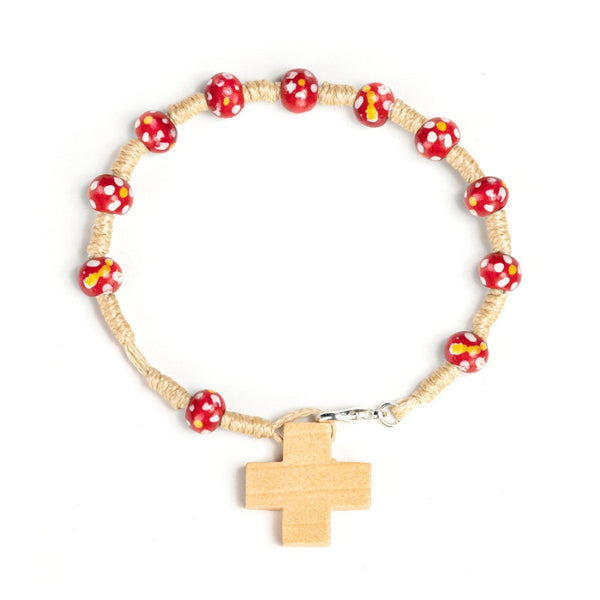 red rosary bracelet for kids