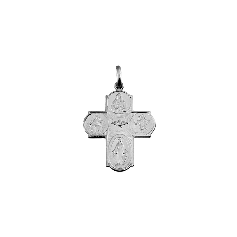Sterling silver scapular cross