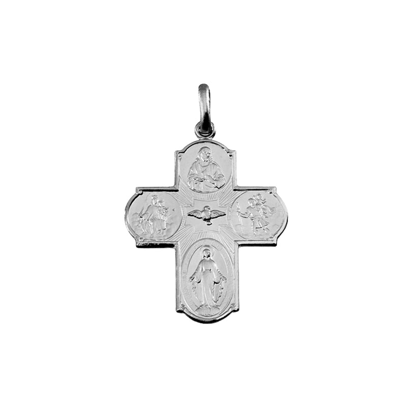metal scapular cross
