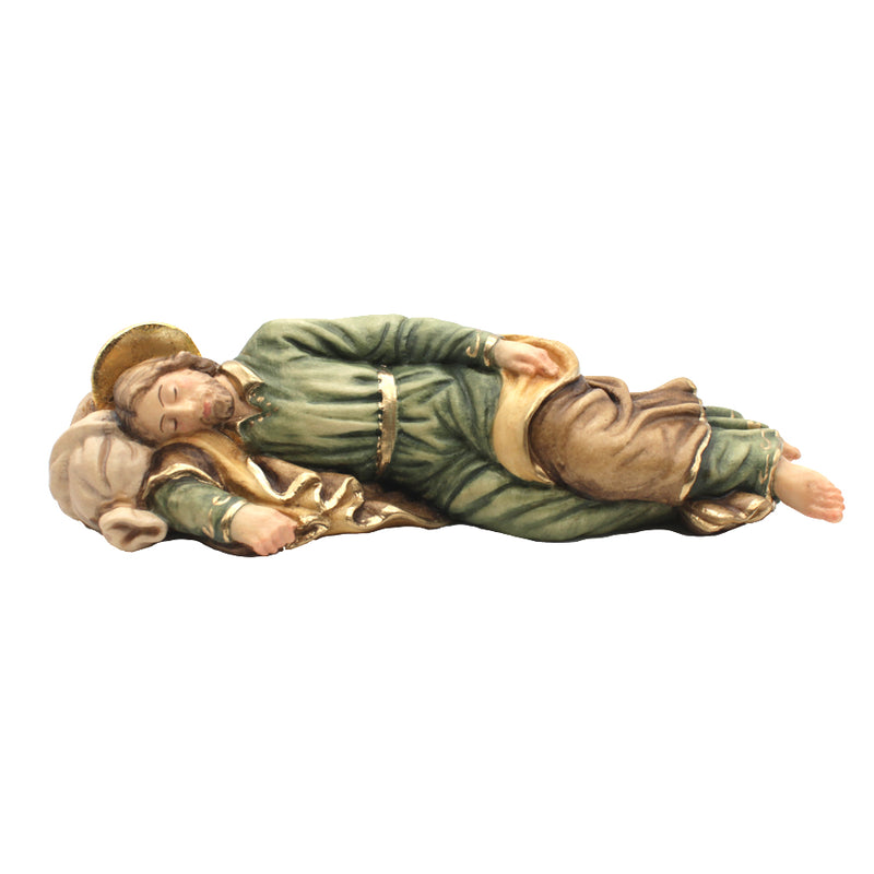 SLEEPING SAINT JOSEPH - STATUE - WOOD