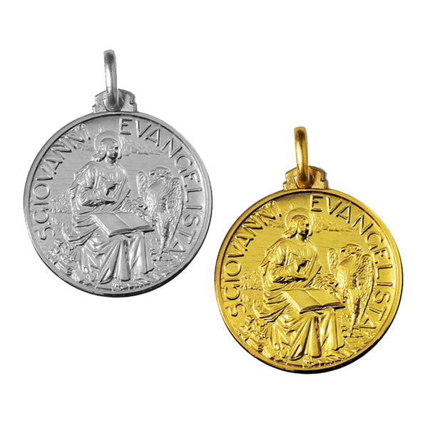Saint John the evangelist medal