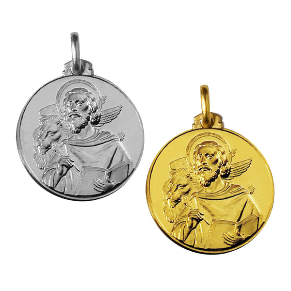 Saint Mark the evangelist medal