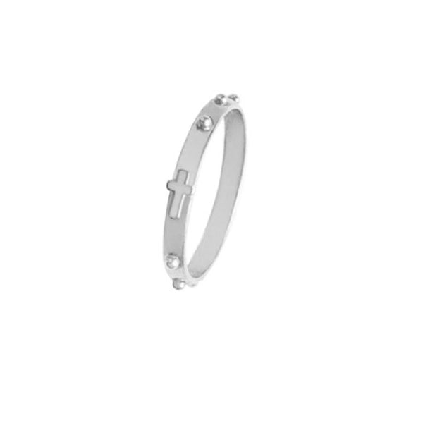ROSARY RING - SILVER
