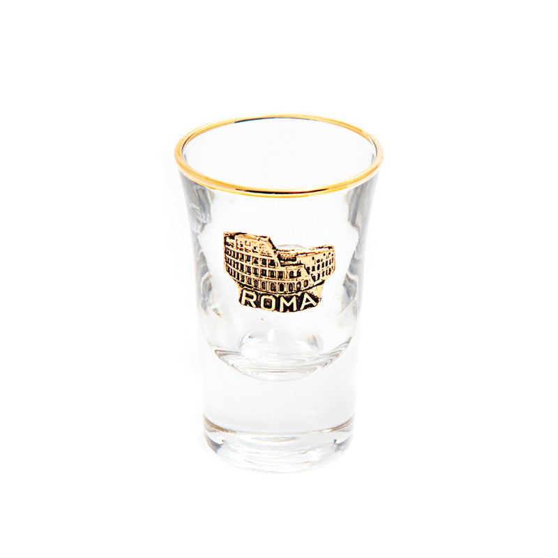 Colosseum shot glass